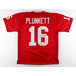 "Jim Plunkett Signed Jersey Inscribed ""Heisman 1970"" (Beckett COA)"