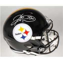 Hines Ward Signed Steelers Full-Size Speed Helmet (JSA COA)