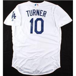 Justin Turner Signed Los Angeles Dodgers Jersey (MLB Hologram)
