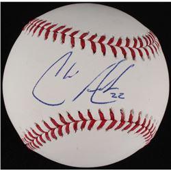 Chris Archer Signed OML Baseball (MLB Hologram)