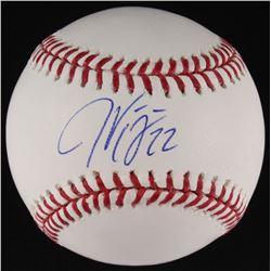 Jason Kipnis Signed OML Baseball (MLB Hologram)