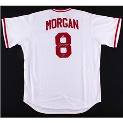 "Joe Morgan Signed Jersey Inscribed ""HOF '90"" (Radtke COA)"
