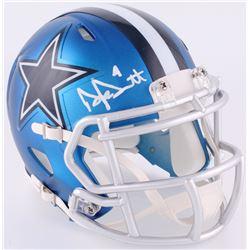 Dak Prescott Signed Cowboys Blaze Speed Mini Helmet (JSA COA  Prescott Hologram)