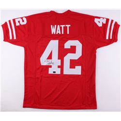 T. J. Watt Signed Jersey (JSA COA  Watt Hologram)