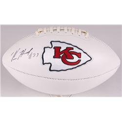 Kareem Hunt Signed Chiefs Logo Football (JSA COA)