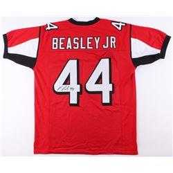 Vic Beasley Signed Jersey (JSA COA)