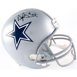 Dak Prescott Signed Cowboys Full-Size Helmet (JSA COA  Radtke Hologram)