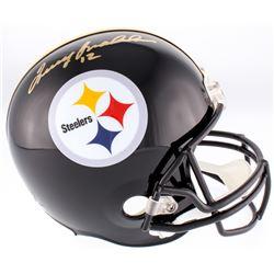 Terry Bradshaw Signed Steelers Throwback Full-Size Helmet (Radtke COA  Bradshaw Hologram)