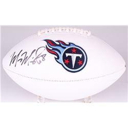 Marcus Mariota Signed Titans Logo Football (Radtke COA)