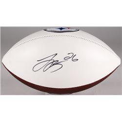 Le'Veon Bell Signed Steelers Logo Football (JSA Hologram)