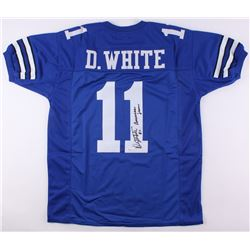 "Danny White Signed Jersey Inscribed ""Americas Team"" (JSA COA)"