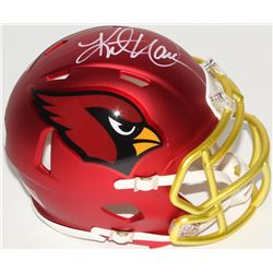 Kurt Warner Signed Cardinals Blaze Speed Mini Helmet (Radtke COA)