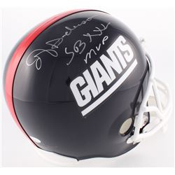 "Ottis Anderson Signed Giants Full-Size Helmet Inscribed ""SB XXV MVP"" (JSA COA)"