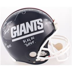 Lawrence Taylor Signed Giants Full-Size Authentic On-Field Helmet With Multiple Inscriptions (JSA CO
