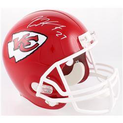 Kareem Hunt Signed Chiefs Full-Size Helmet (Radtke COA)
