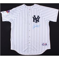 Alex Rodriguez Signed LE Yankees 1997 50th Anniverary Jackie Robinson Day Jersey (Steiner COA)