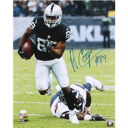 Amari Cooper Signed Raiders 16x20 Photo (JSA COA)