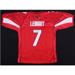 Matt Leinart Signed Cardinals Jersey (Beckett COA)
