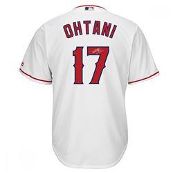 Shohei Ohtani Signed Angels Jersey (Steiner Hologram  MLB Hologram)