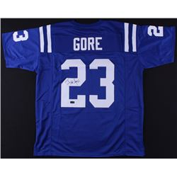 Frank Gore Signed Jersey (Radtke COA)