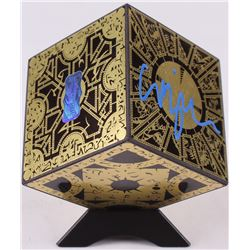 "Clive Barker Signed ""Hellraiser: Lament Configuration"" Miniature Puzzle Cube Prop (Radtke COA)"