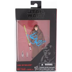 "Mark Hamill Signed ""Luke Skywalker"" Star Wars: The Black Series Action Figure (Radtke COA)"