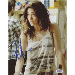 "Emmy Rossum Signed ""Shameless"" 8x10 Photo (PSA COA)"