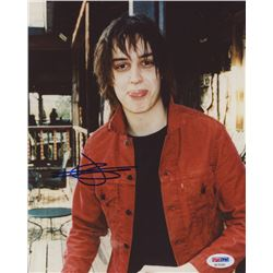 Julian Casablancas Signed 810 Photo (PSA COA)