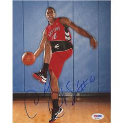 DeMar DeRozan Signed Raptors 8x10 Photo (PSA COA)