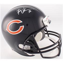 Brian Urlacher Signed Bears Full-Size Helmet (Radtke COA)