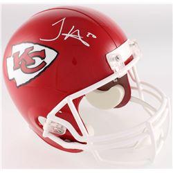 Tyreek Hill Signed Chiefs Full-Size Helmet (Radtke COA)