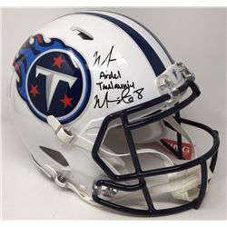 Marcus Mariota Signed Titans LE Full-Size Authentic On-Field Speed Helmet (Steiner COA)