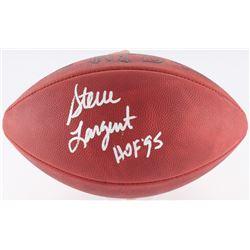 """Steve Largent Signed Signed Official NFL Game Ball Inscribed """"HOF '95"""" (JSA COA)"""