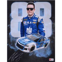 Alex Bowman Signed 2018 NASCAR #88 11x14 Photo (PA COA)
