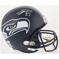Eddie Lacy Signed Seattle Seahawks Full-Size Helmet (Lacy Hologram  Radtke COA)