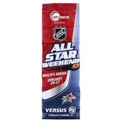 Mike Ribeiro Signed 30x92 2008 NHL All-Star Game Banner (JSA COA)