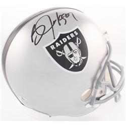 Bo Jackson Signed Oakland Raiders Full-Size Helmet (Beckett COA  Jackson Hologram)