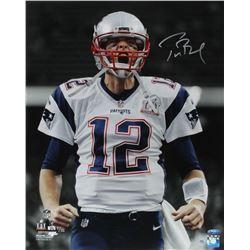 Tom Brady Signed Patriots Super Bowl LI 16x20 Limited Edition Photo (Steiner COA)