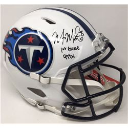 "Marcus Mariota Signed Titans Limited Edition Full-Size Authentic On-Field Speed Helmet Inscribed ""1s"