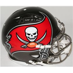 Jameis Winston Signed Buccaneers Limited Edition Full-Size Authentic On-Field Speed Helmet Inscribed