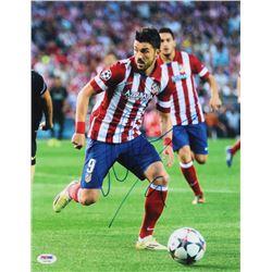 David Villa Signed Atletico Madrid 11x14 Photo (PSA COA)