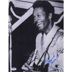 Chuck Berry Signed 11x14 Photo (PSA COA)