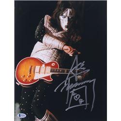 "Ace Frehley Signed ""KISS"" 11x14 Photo (Beckett COA)"