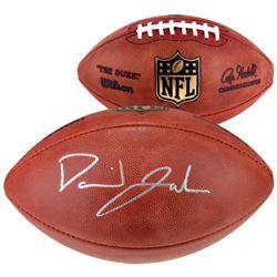 "David Johnson Signed ""The Duke"" NFL Game Ball Football (Fanatics Hologram)"
