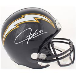 LaDainian Tomlinson Signed Chargers Full-Size Helmet (Radtke COA  Tomlinson Hologram)