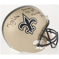 "Kenny Vaccaro Signed Saints Full-Size Helmet Inscribed ""Saints '13 1st Round Pick"" (Radtke COA)"