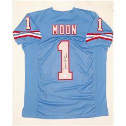 "Warren Moon Signed Jersey Inscribed ""HOF 06"" (JSA COA)"