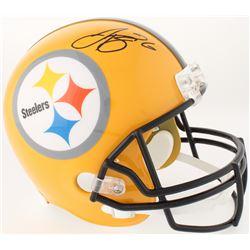 Le'Veon Bell Signed Pittsburgh Steelers Throwback Full-Size Helmet (JSA COA)