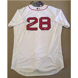 J.D. Martinez Signed Red Sox Majestic Jersey (Steiner Hologram)