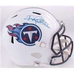 Derrick Henry Signed Titans Full-Size Speed Helmet (Henry Hologram)